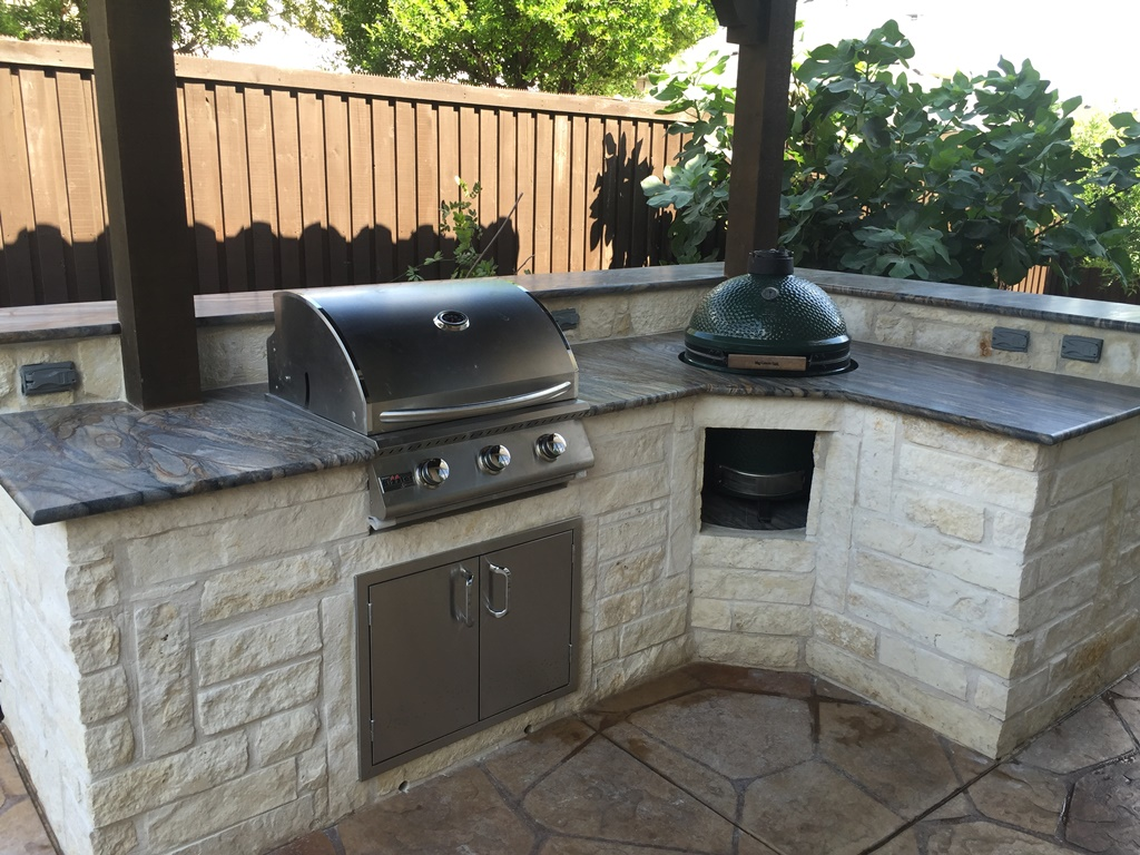 Scott Design & Construction - Outdoor in Kitchens Allen and ...