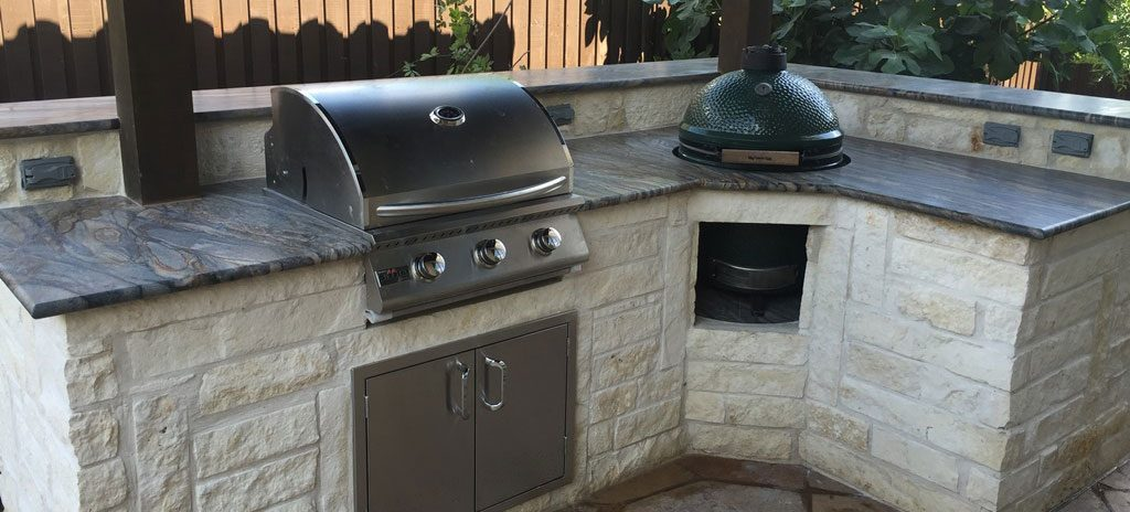 If You've Been Grilling Under the Sun, It's Time for an Outdoor Kitchen