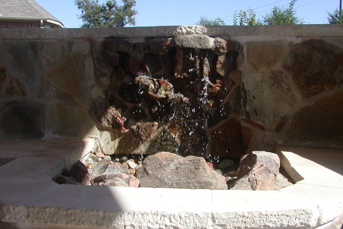 Don't waste water call Scott Design and construction!